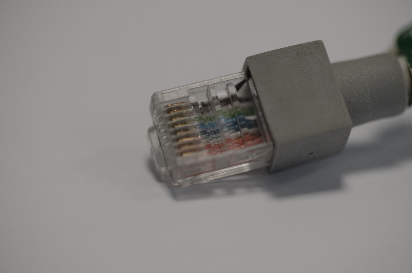 IP camera via ethernet