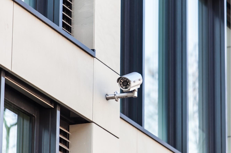Uw professionele bewakingscamera buiten
